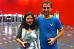 Gewinner: Dara Ladner (Damen) und Sascha Gojkovic (Open Division)