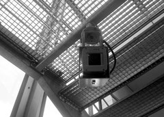 U-Bahn Überwachungskamera