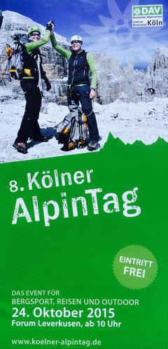 Shaksgam Expedition auf dem 8. Kölner AlpinTag 2015