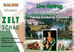 Christof Nettekoven Pakistan Karakorum Expedition Vortrag