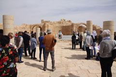 Ruines de l'église d'Avdat, ancien monastère nabatéen