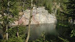 Steinbrüche bei Gefrees auf der Hohen Reuth 2011