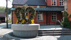 Osterbrunnen in Gefrees 2011