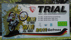 Trial Weltmeisterschaft in Gefrees 2011