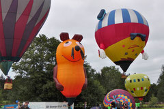 Heißluftballon-Festival in Bad Steben
