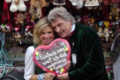 Marianne und Michael auf der Wiesn 2010