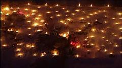 Ewigen Anbetung - Lichterfest in Pottenstein Fränkische Schweiz