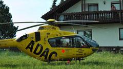 ADAC Christoph 20 im Einsatz in Streitau