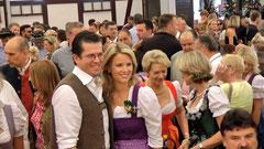 61. Kulmbacher Bierwoche - Festzug - Bieranstich - Karl Theodor zu Guttenberg & Frau Stephanie