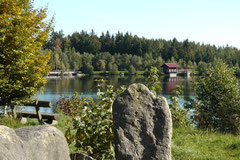 Der Fichtelsee im Naturpark Fichtelgebirge