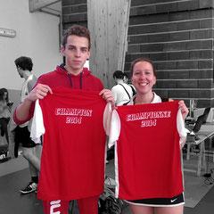 Natacha et Kenzo champions du Calvados NC/D4
