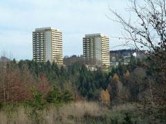 Hochhäuser in Hohegeiß