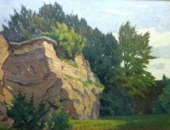Landschaftsgemälde von Carl Neuss (1888-1967)