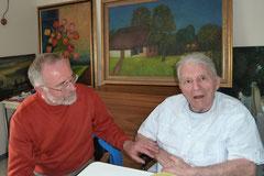 Freunde: Hans Pick und Dr. Hans-Joachim Andres