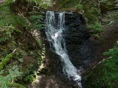 Der berühmte Wasserfall in Zorge