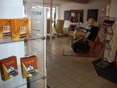 Design Sessel und Massagesessel Ausstellung