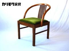 カリモク家具ビンテージアームチェア肘掛椅子中古家具いす