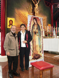 . Peter Schwanitz und Gloria Polo in Wigratzbad