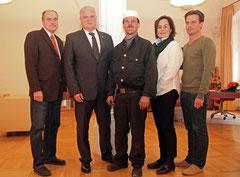 Glücksbringer für Bgm. Dr. Reinhard Resch. Foto: Stadt Krems
