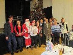 Weihnachtsfeier in der Römerhalle in Mautern. Foto: zVg