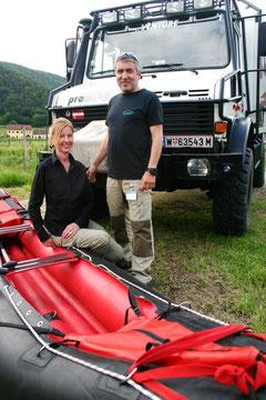 Mag. Michaela Ehgartner und Michael Ocvirk wollen die Outdoor-Anbieter vernetzen. Foto: WaPA