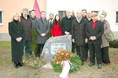Gedenkfeier für Koloman Wallisch