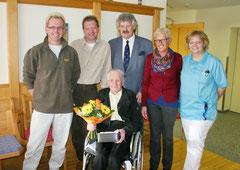 Alois Koller feiert seinen 80. Geburtstag. Foto: WaPA