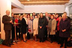 Die russische Delegation wurde wurde durch den Betrieb der Winzer Krems geführt. Foto: Stadt Krems