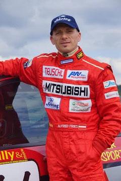 Motorsport-Aus für Alfred Fries. Fotos: Werner Schneider