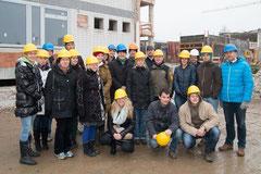 Besichtigung der Bauarbeiten des Bundesgymnasium Rechte Kremszeile. Foto: zVg