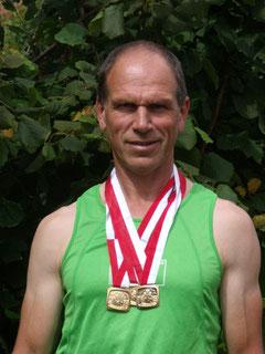 Rainer Hintschich: Bayerischer Meister über 800m, 1500m und 5000m