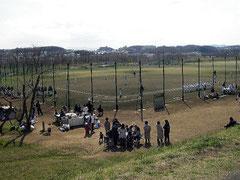 多摩川河川敷 リトルリーグ専用野球場