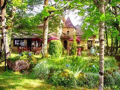Jardin de l'Auberge chez Jeannine
