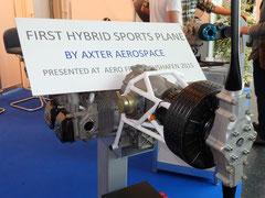 Hybrid Antrieb AX-40 von Axter Aerospace aus Spanien