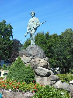 Monument to Captain John Parker