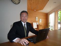 社長(上田啓一郎)の写真