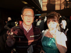 岩本先生と。
