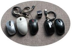 有線・無線(指マウスも)の光学マウス