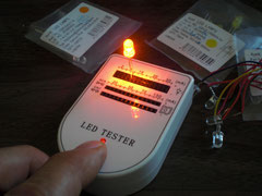9V電池を使った各種の電流が流せるテスター