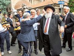 Tora, Torah, Frankfurt, Einweihung, Rabbiner Ehrenberg, Rabbiner Avichai Apel