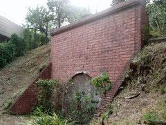 小石川地下トンネル射撃場入り口跡