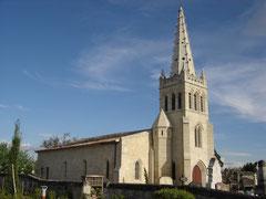 Eglise Sainte-Madeleine de Lapouyade