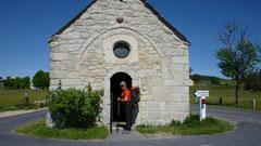 chapelle de bastide,compostelle,gr65,chaze de peyre
