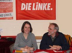 Christine Buchholz und Jochen Böhme-Gingold
