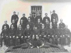 Foto: 1890 -10 Jahre Freiwillige Feuerwehr Würflach