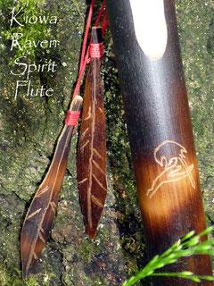 Kiowa Raven Spirit Flute
