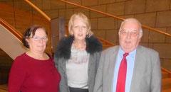 NRW - Ministerpräsidentin Hannelore Kraft begrüßte auch Günter Bohne(rechts) vom  AG 60 plus Landesvorstand