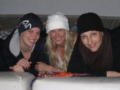 Friends; Steffi - Chris - Sabine