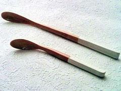 Bamboo Desert Spoon