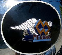 Sigle de réservoir MEGURO 250 cc S3